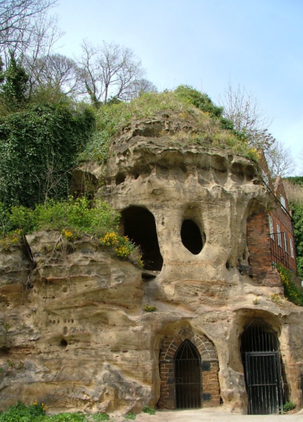 Nottingham's caves