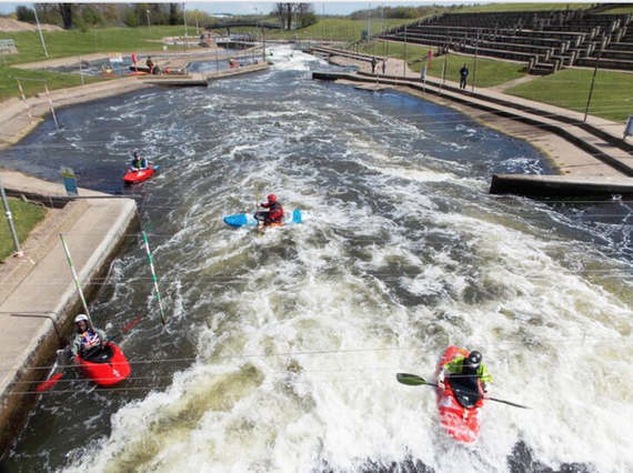 National Water Sports Centre near West Bridgford